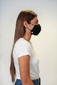 The Essential Mask - Black - Pack of 3