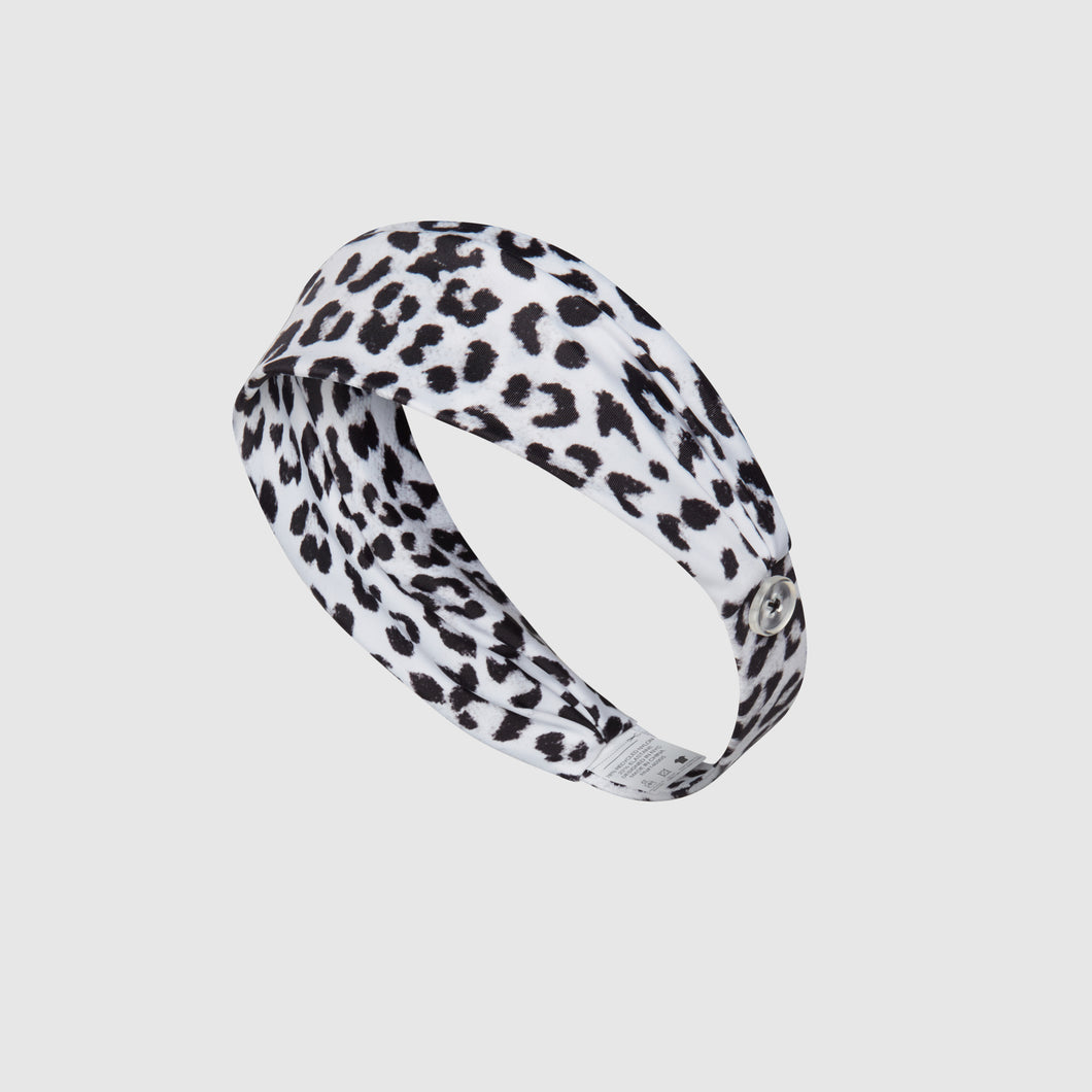 Comfort Headband - Monochrome Cheetah