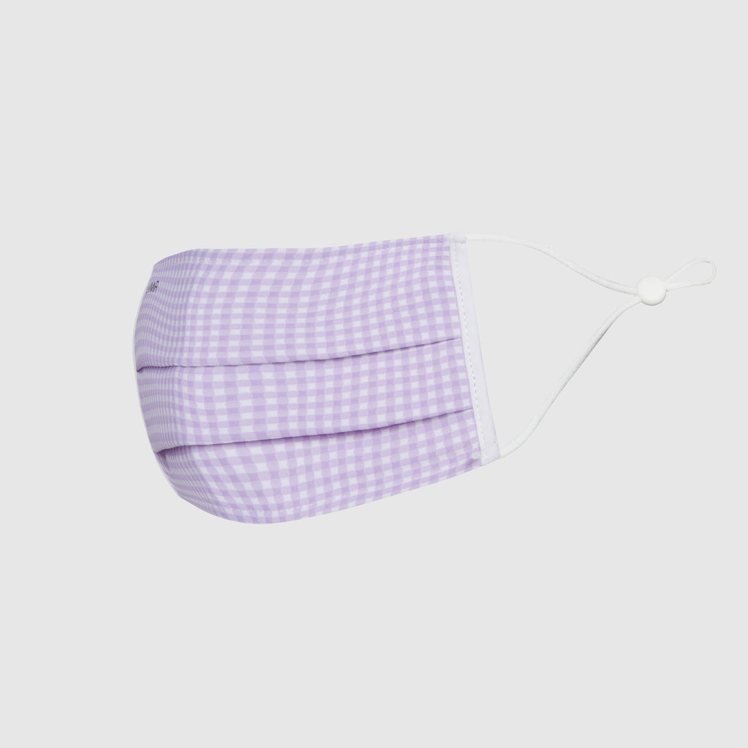 The LA Mask - Lavender Gingham