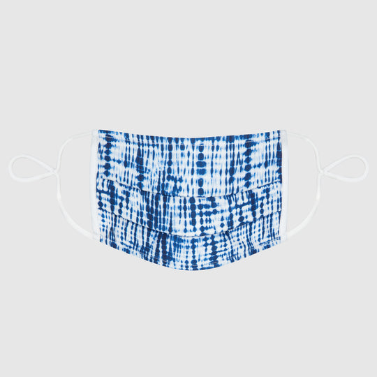 The LA Junior Mask - Shibori Seas