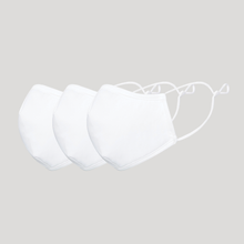 Load image into Gallery viewer, The L-Air Mask - White - Pack of 3