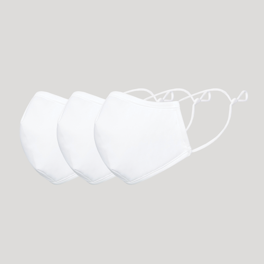 The L-Air Mask - White - Pack of 3