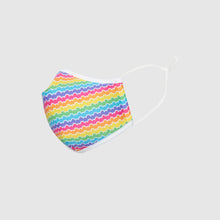 Load image into Gallery viewer, The L-Air Mask - Rainbow Hearts