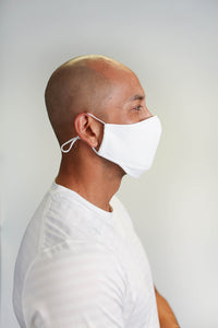 The Lunair Pro Mask - White - Pack of 3