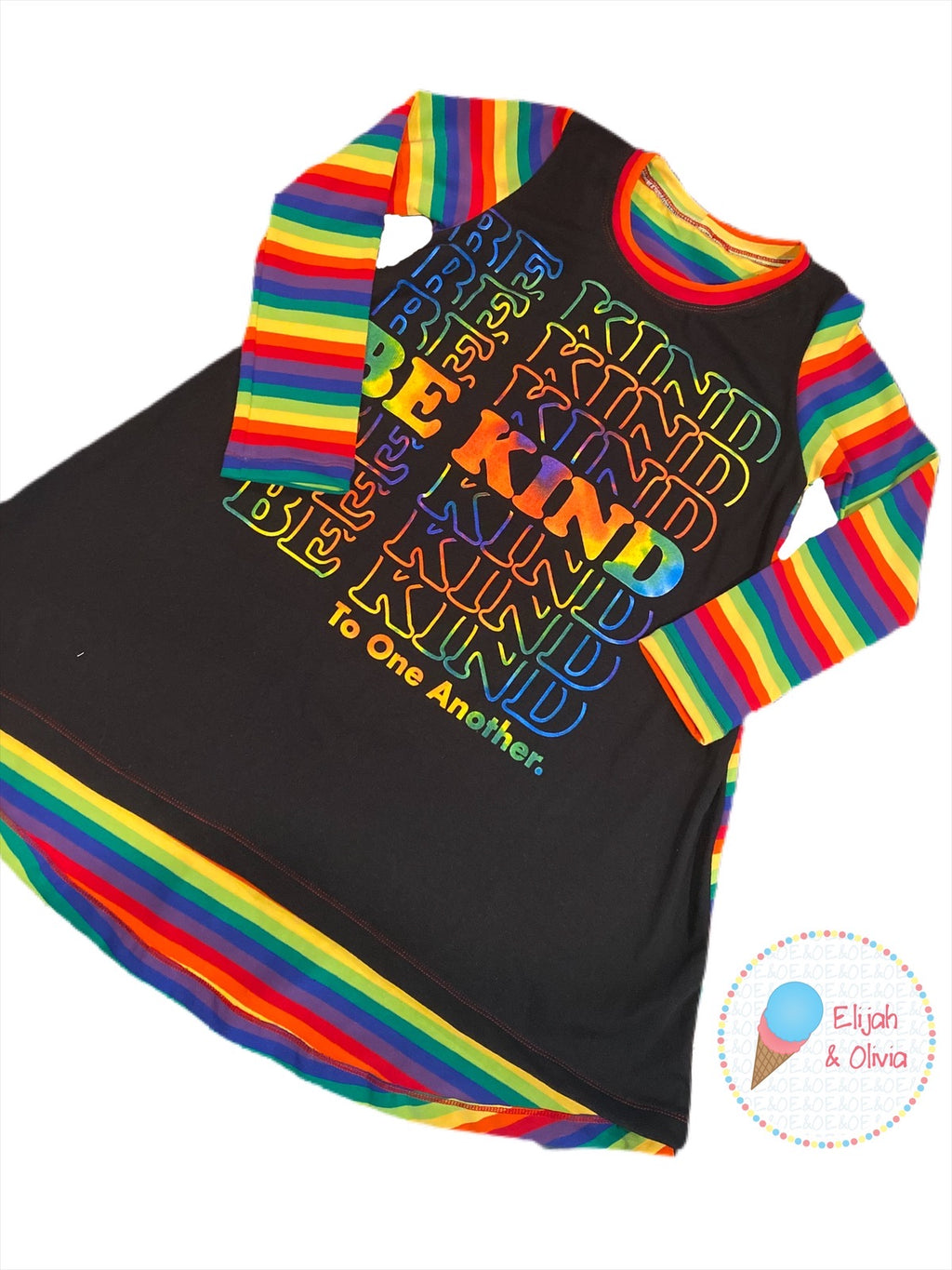 T-Shirt Dress: Be Kind