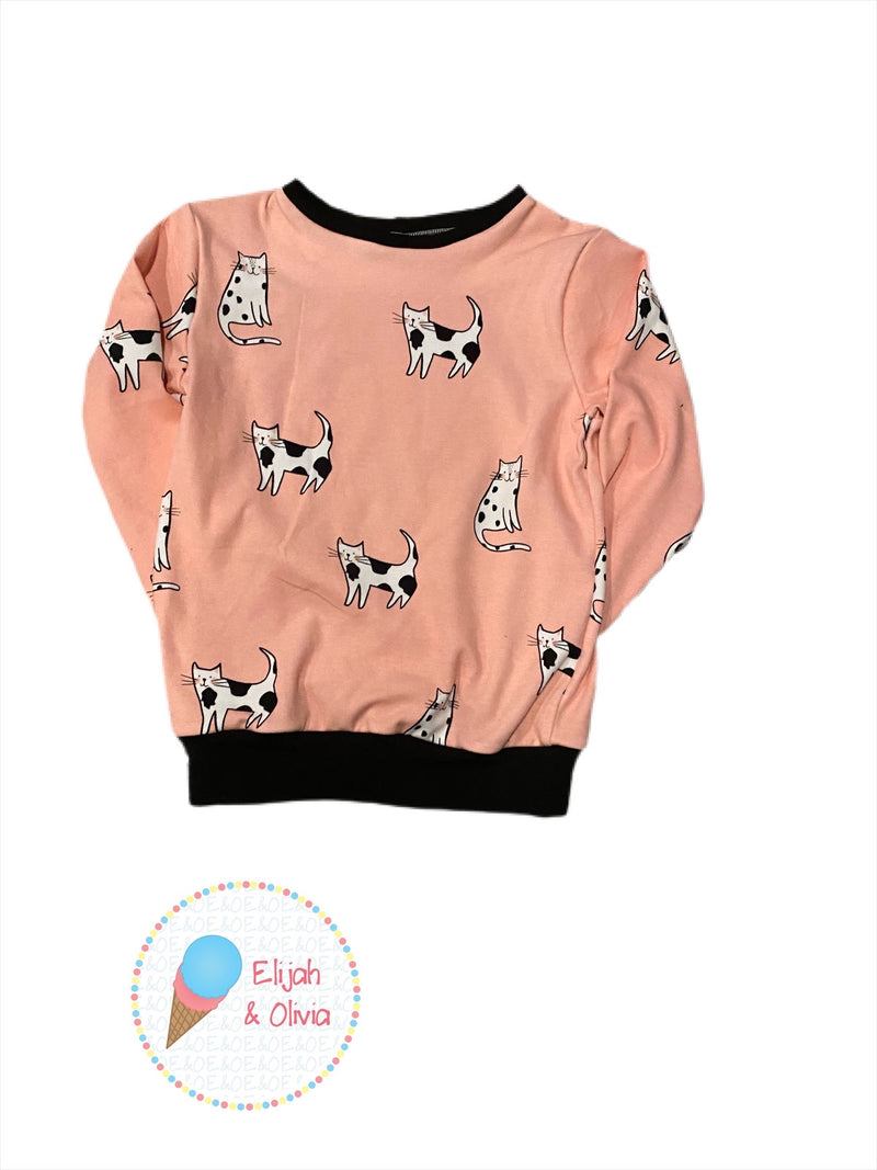 Ray Ray Sweatshirt-cats