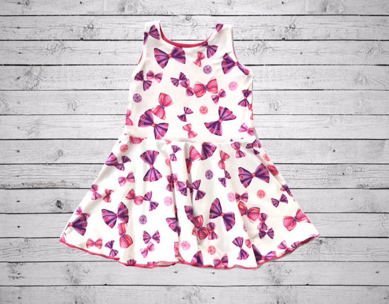 Chloe Playdate Dress-Bows