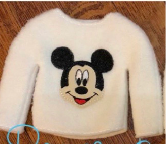 Tiny Sweater-boy mouse