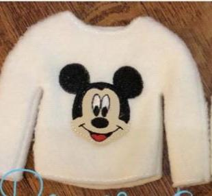 Tiny Sweater-Mickey