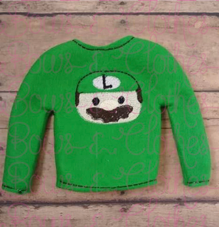Tiny Sweater-Luigi