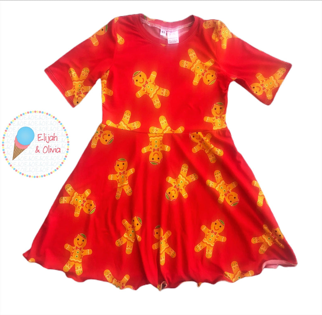 Sydney Dress- Gingerbread