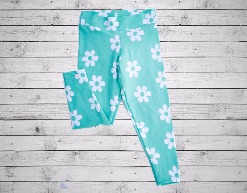 Maya Legging- Flower Power