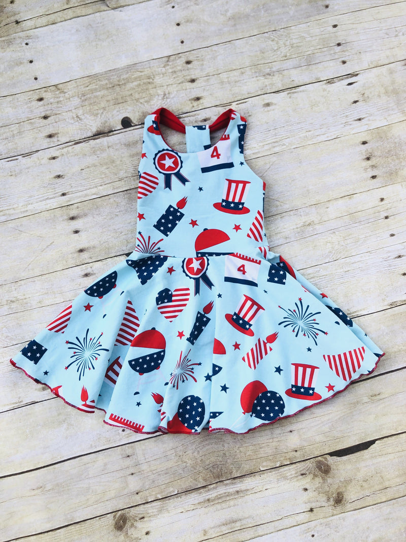 4th of July Cookout Dress
