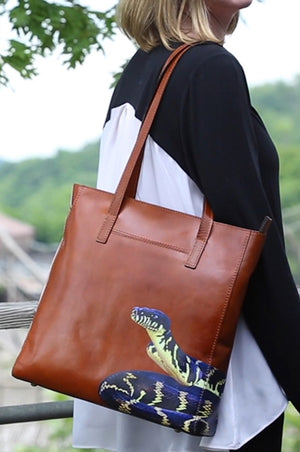 Support the Zoo Knoxville with Our Python Tote