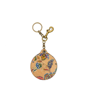 Liscia Twist Mirror Fob - French Tapestry - Liscia Twist Mirror Fob - French Tapestry