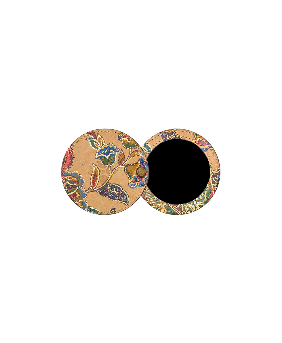 Liscia Twist Mirror Fob - French Tapestry 2