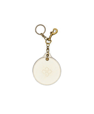 Liscia Twist Mirror Fob - White - Liscia Twist Mirror Fob - White