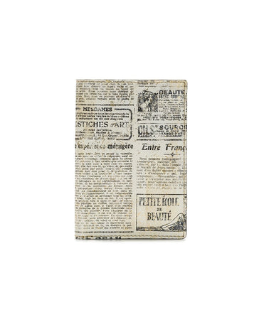 Peretola Passport Sleeve - Newspaper - Peretola Passport Sleeve - Newspaper