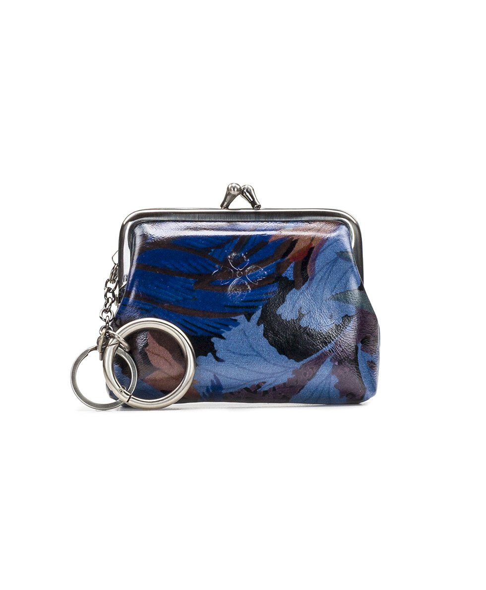 Borse Coin Purse - Blue Forest