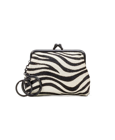 Borse Coin Purse - Zebra Haircalf - Borse Coin Purse - Zebra Haircalf