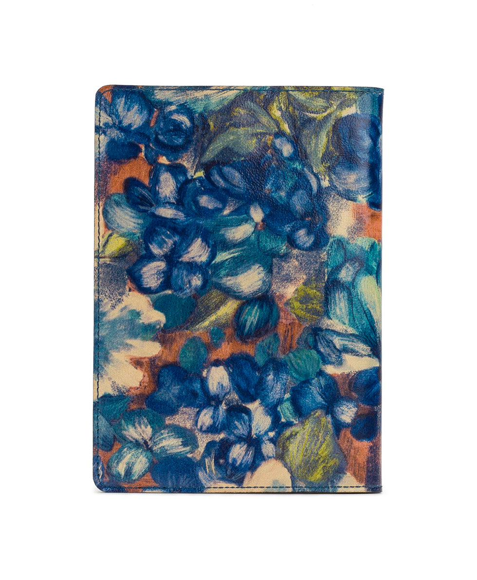 Vinci Journal - Blu Clay Floral 2