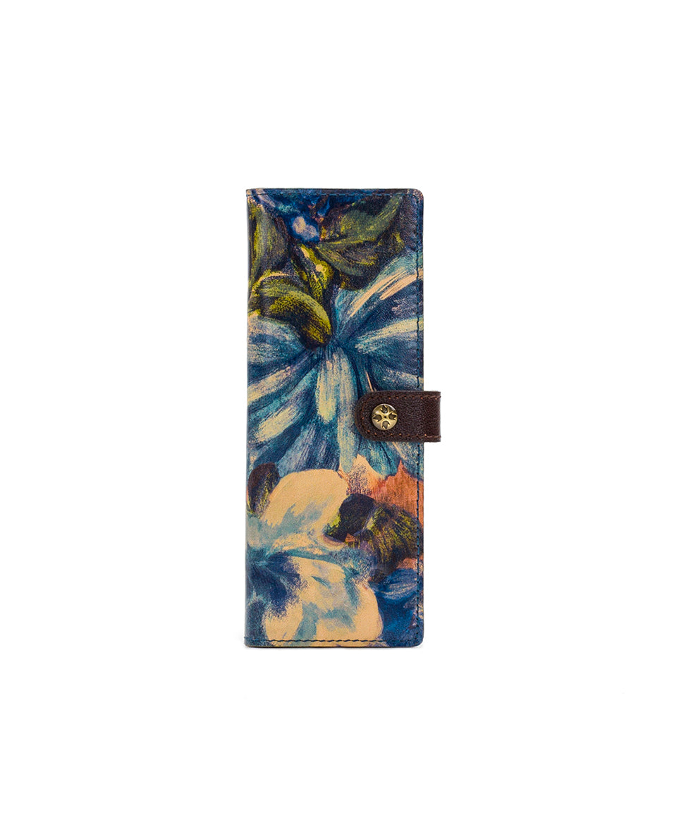 Marotta Card Holder - Blu Clay Floral 1