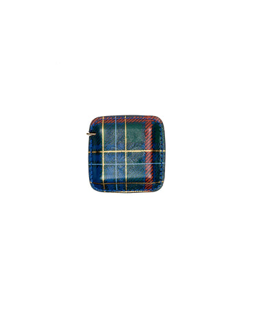 Righello Measuring Tape - Green Tartan Plaid - Righello Measuring Tape - Green Tartan Plaid