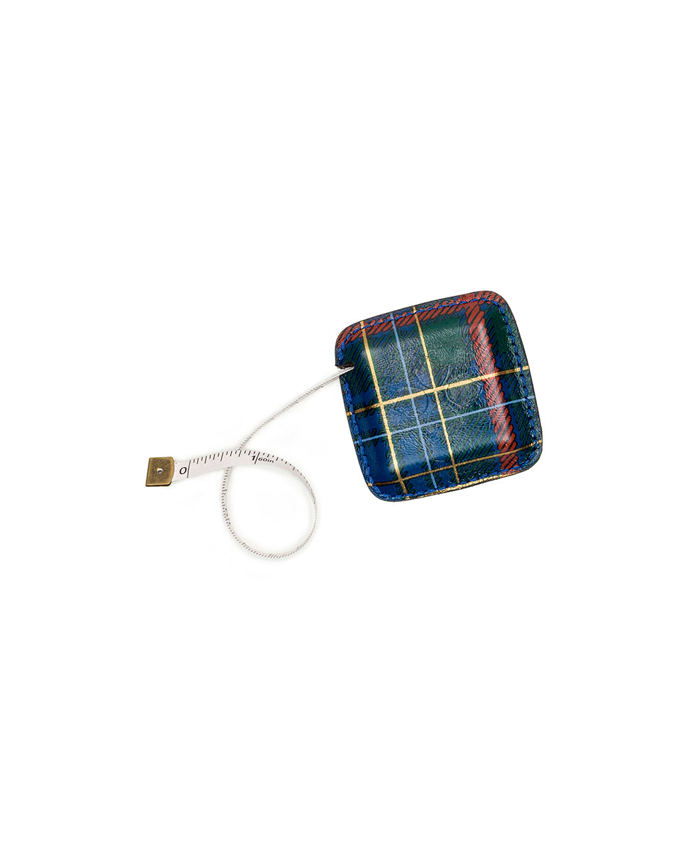 Righello Measuring Tape - Green Tartan Plaid 3