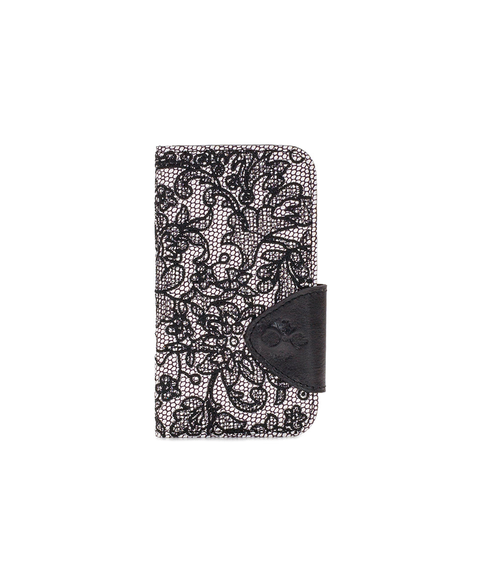 Brenna iPhone 10 Case - Chantilly Lace