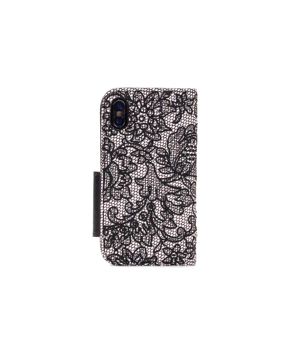 Brenna iPhone 10 Case - Chantilly Lace 2