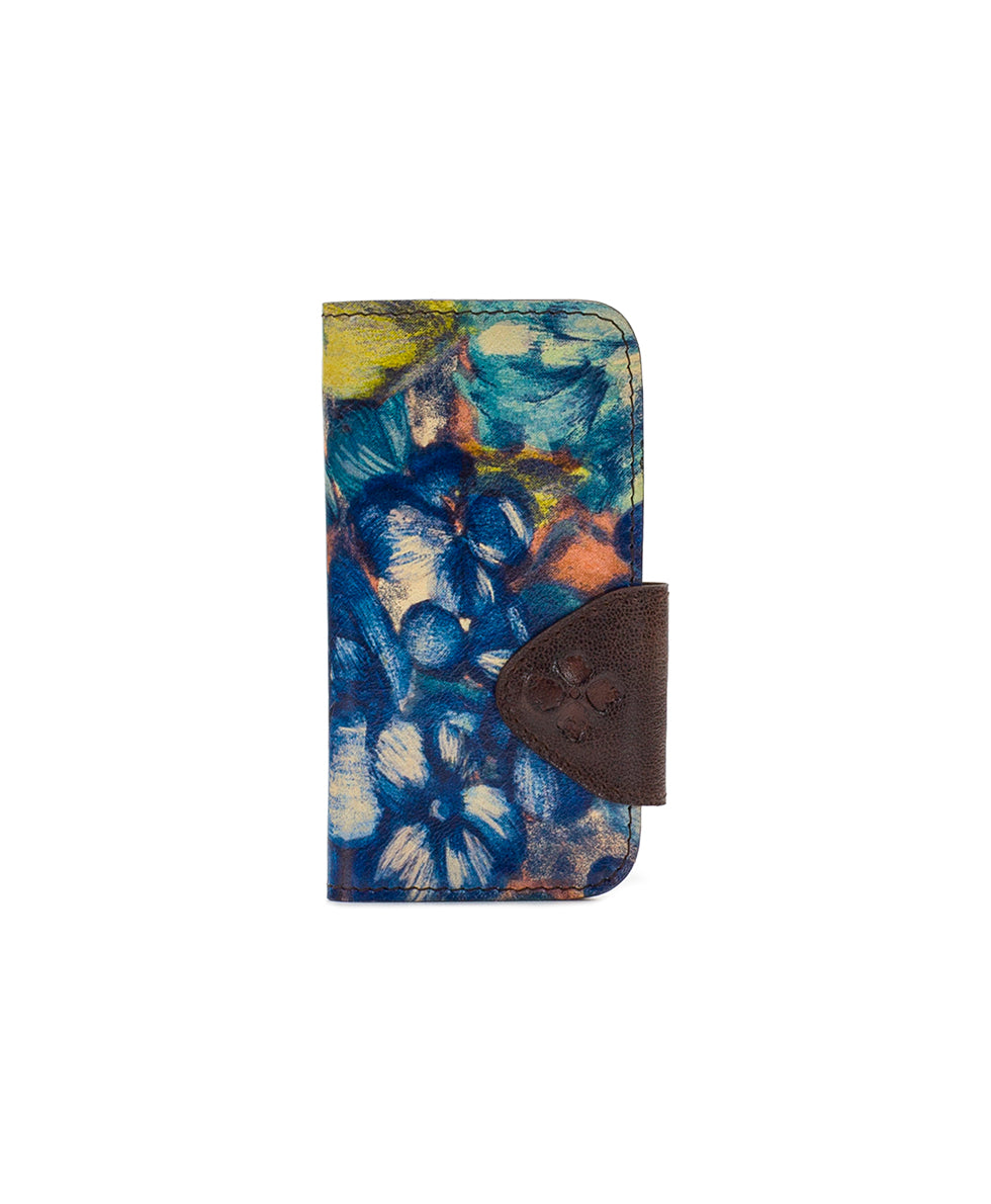 Brenna iPhone 10 Case - Blu Clay Floral 1