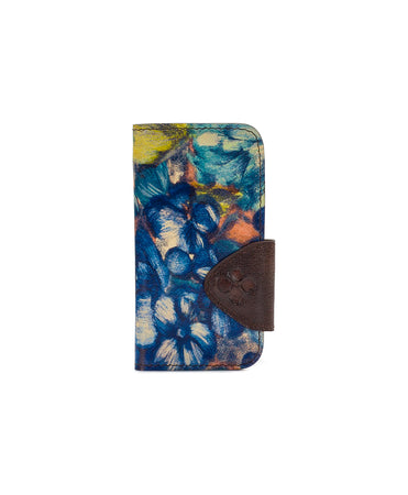 Brenna iPhone 10 Case - Blu Clay Floral - Brenna iPhone 10 Case - Blu Clay Floral