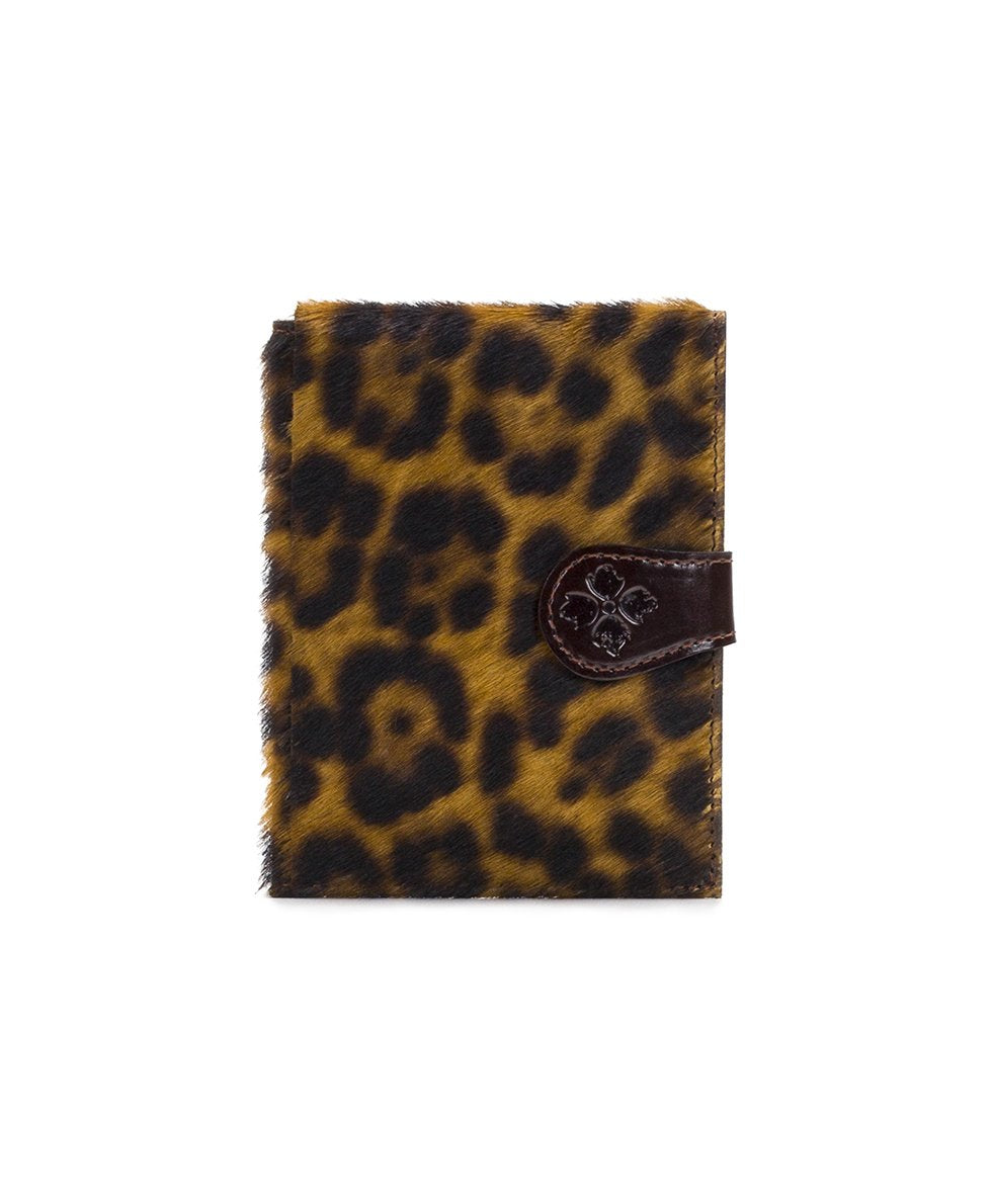 Passport Organizer - Leopard Haircalf