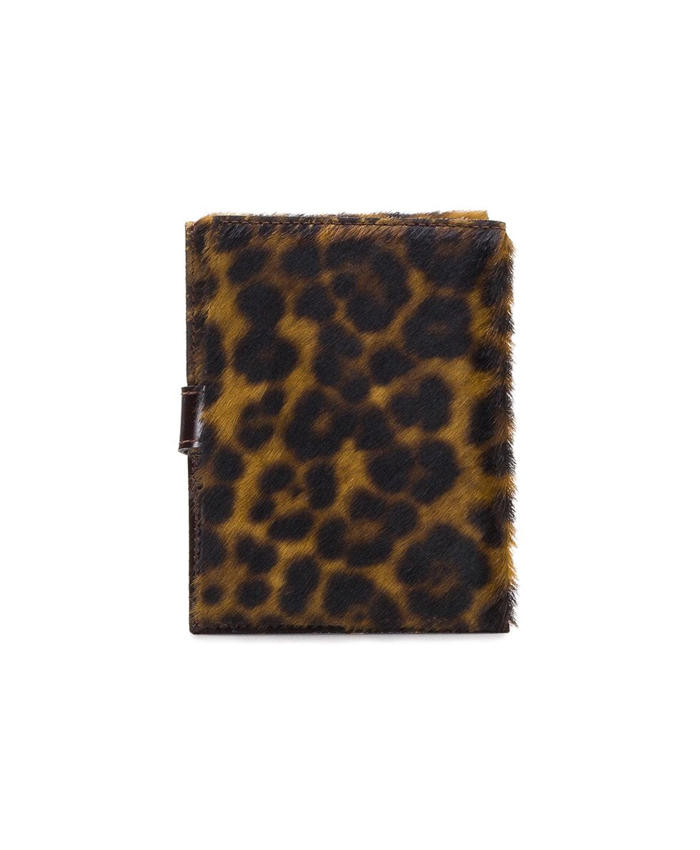 Passport Organizer - Leopard Haircalf 2