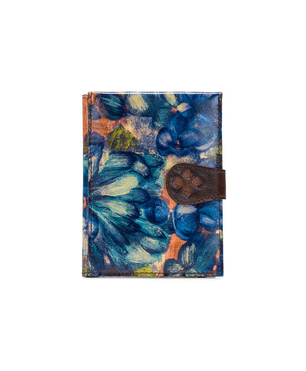 Passport Organizer - Blu Clay Floral