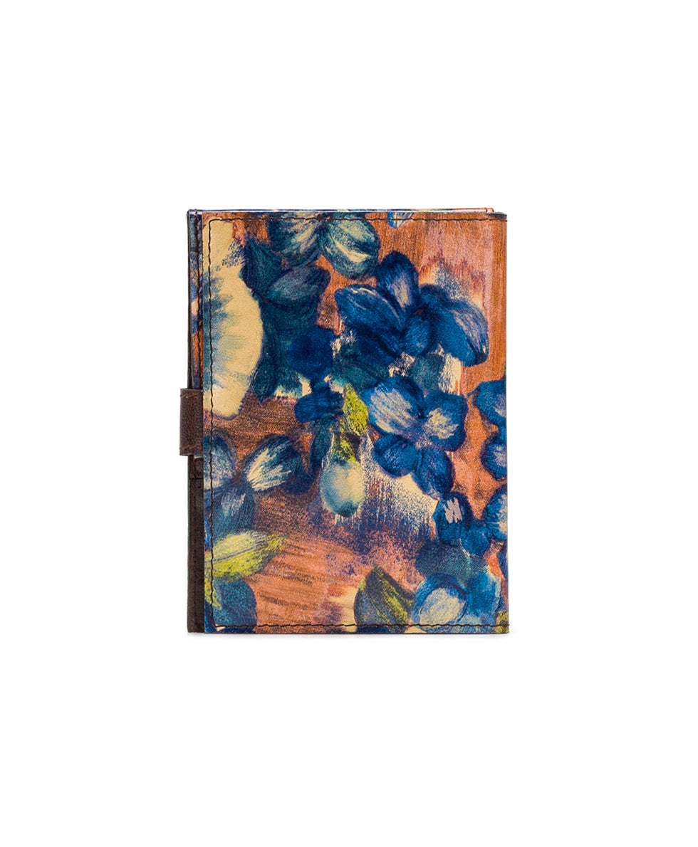 Passport Organizer - Blu Clay Floral 2