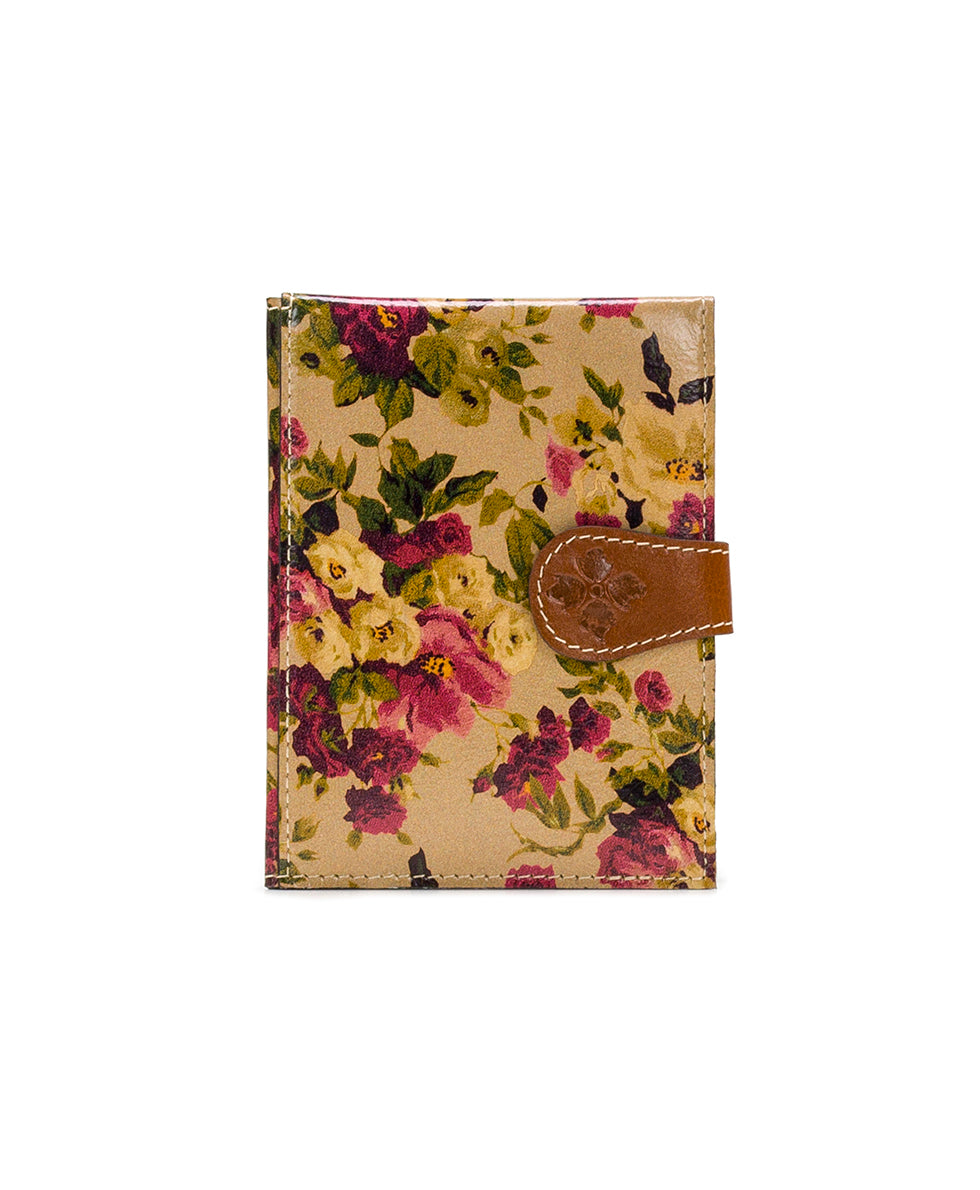 Passport Organizer - Antique Rose 1
