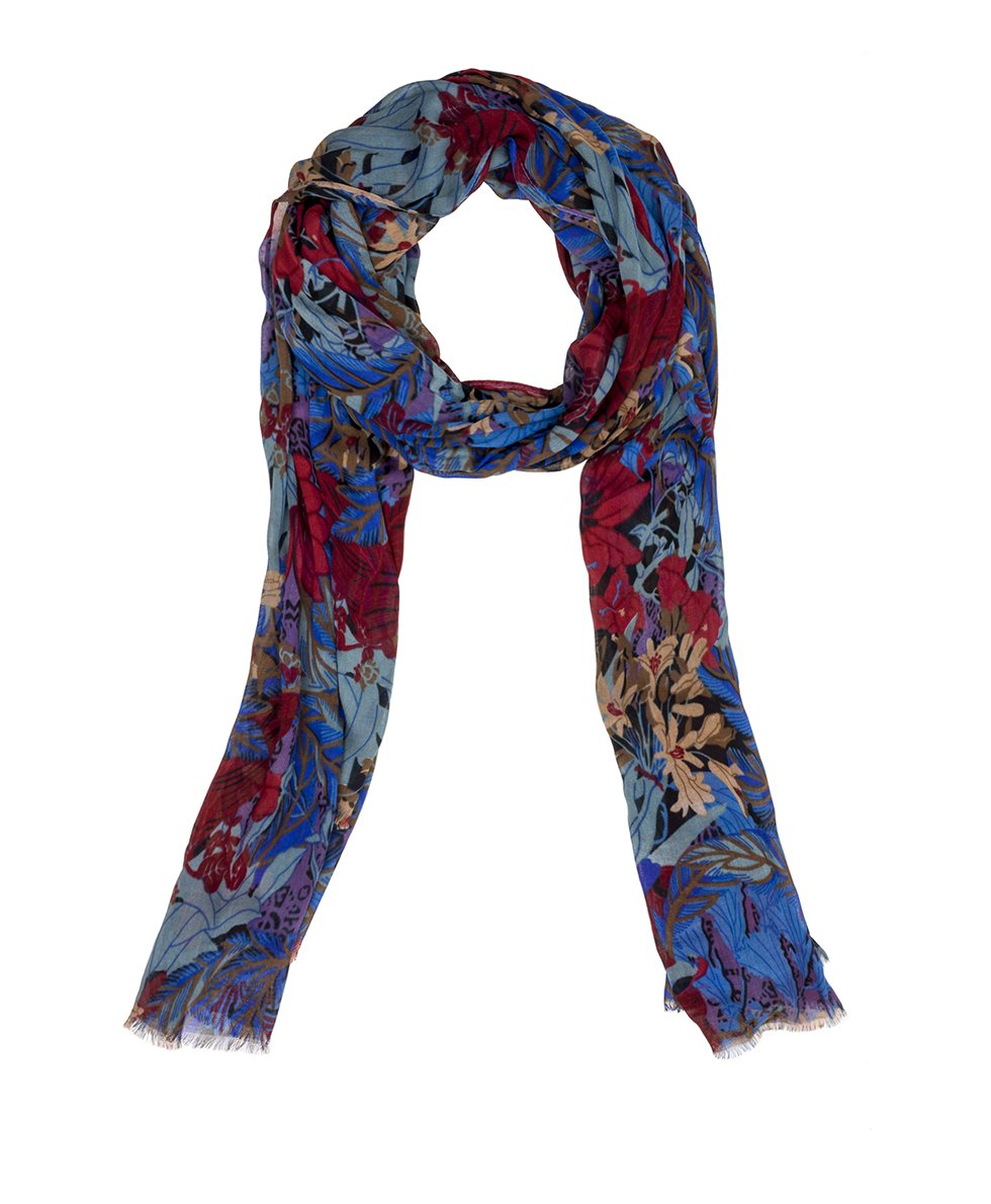 Scarf - Blue Forest