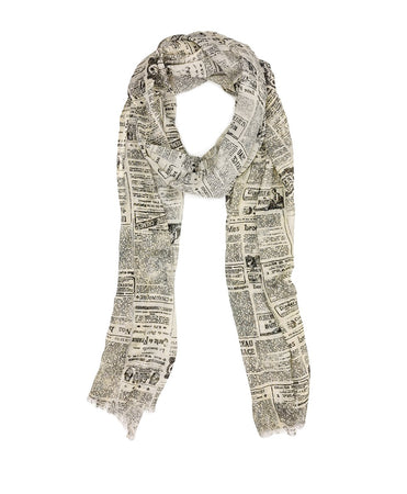Scarf - Newspaper - Scarf - Newspaper