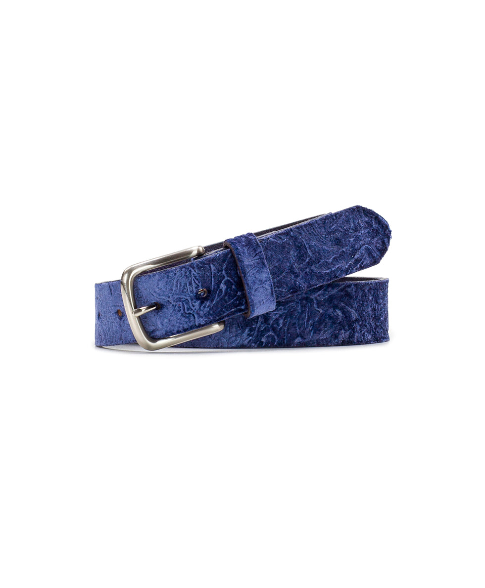 Sovanna - Tooled Velvet Navy