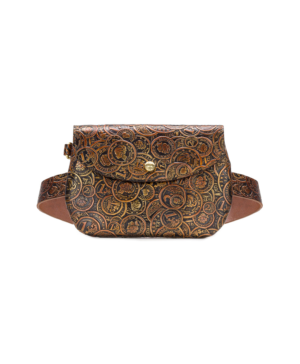 Marini Belt Bag - Coin Tooled 1