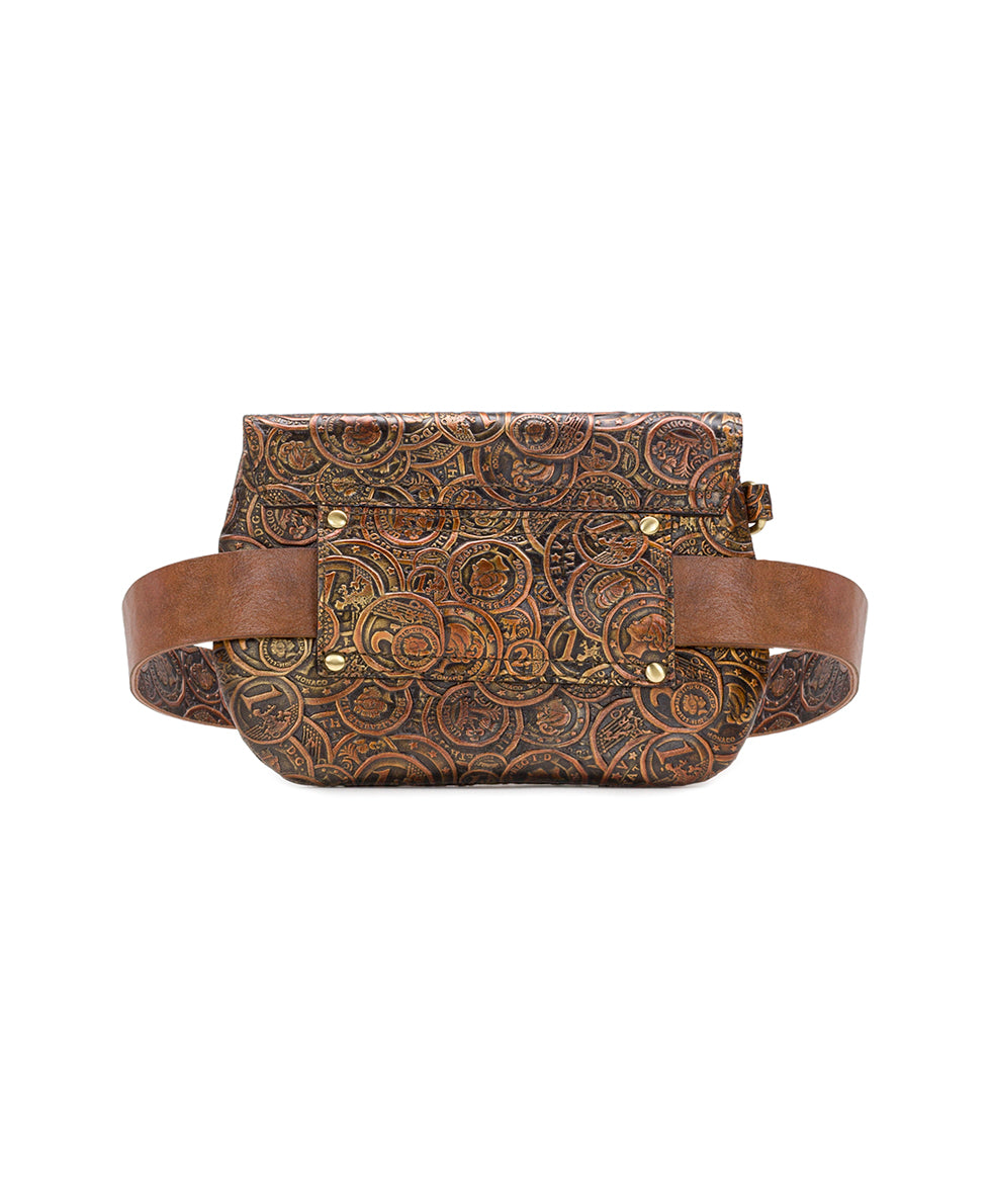 Marini Belt Bag - Coin Tooled 2