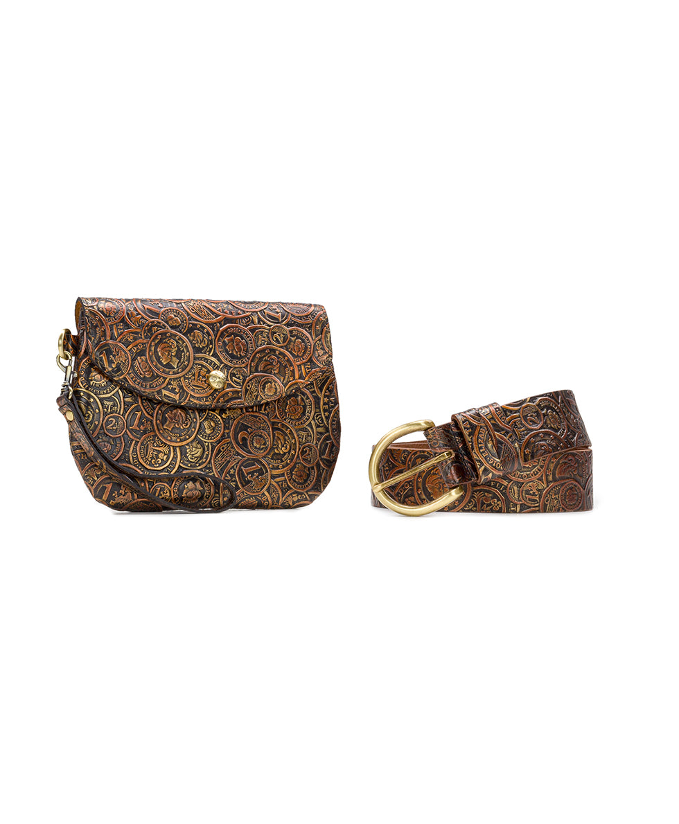 Marini Belt Bag - Coin Tooled 4