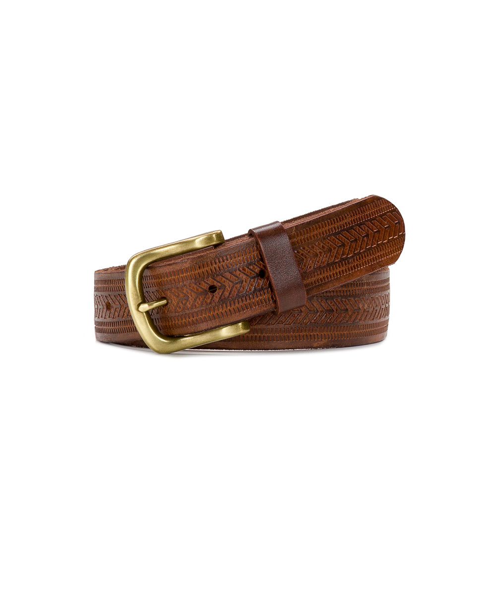 Marconne Belt - Washed Embossed