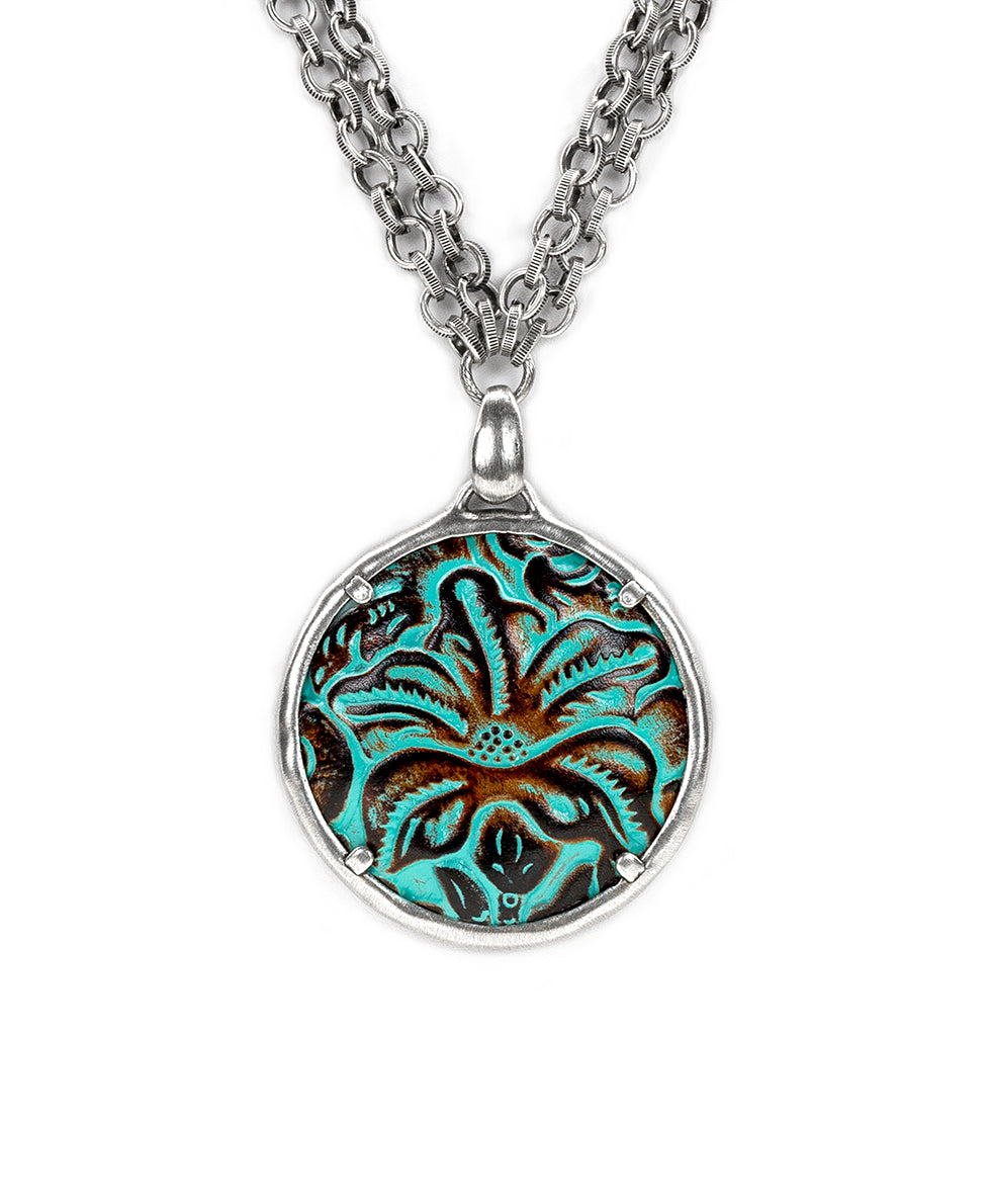 Tooled Turquoise 4