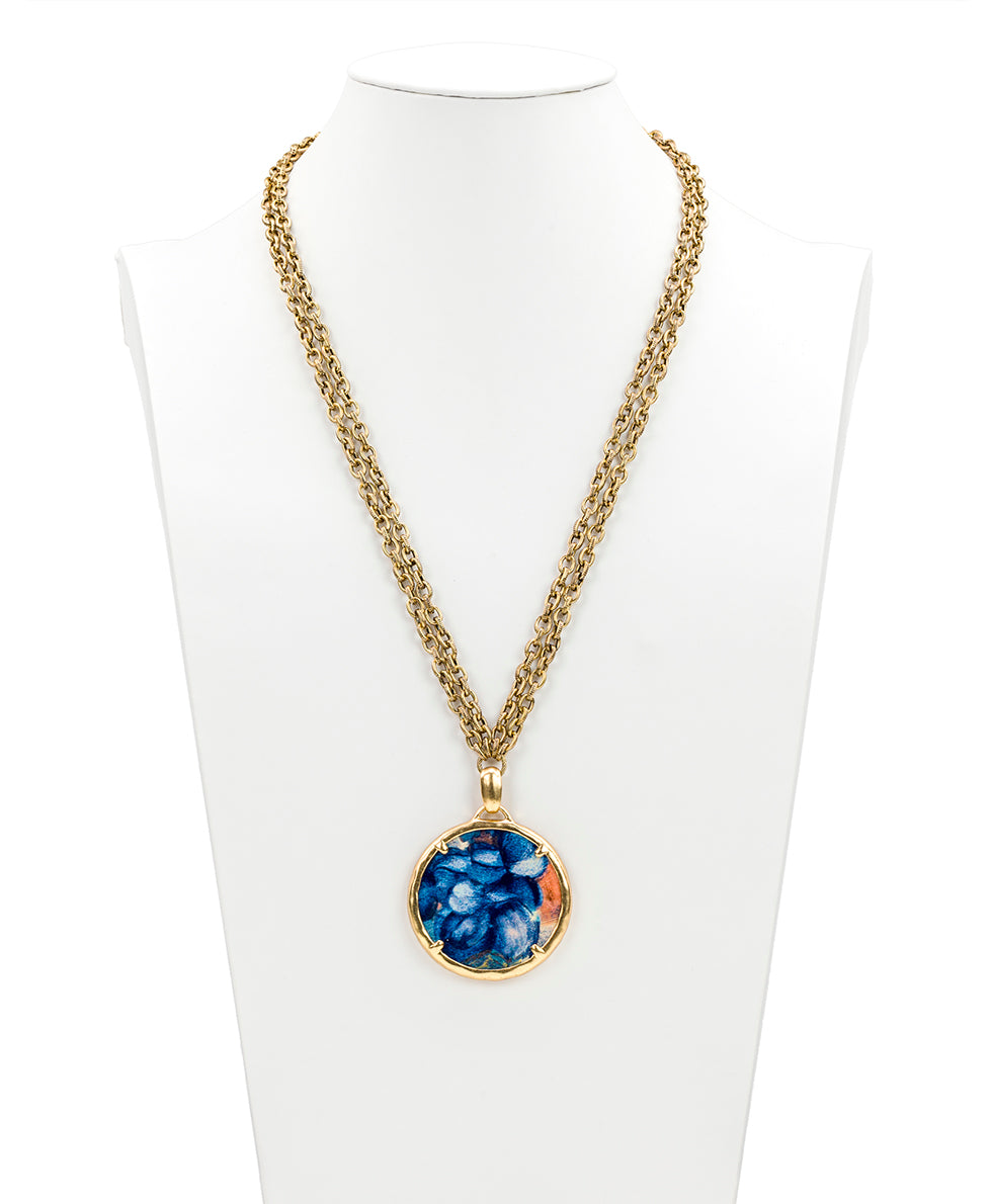 Nicolina Necklace - Blu Clay