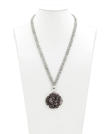 Nicolina Necklace - Chantilly Lace - Nicolina Necklace - Chantilly Lace