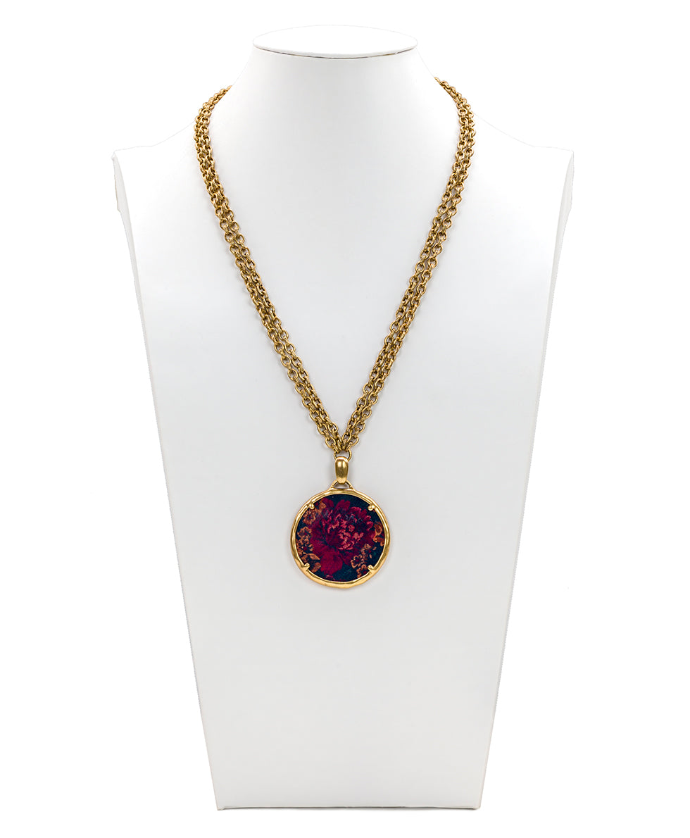 Nicolina Necklace - Fall Tapestry