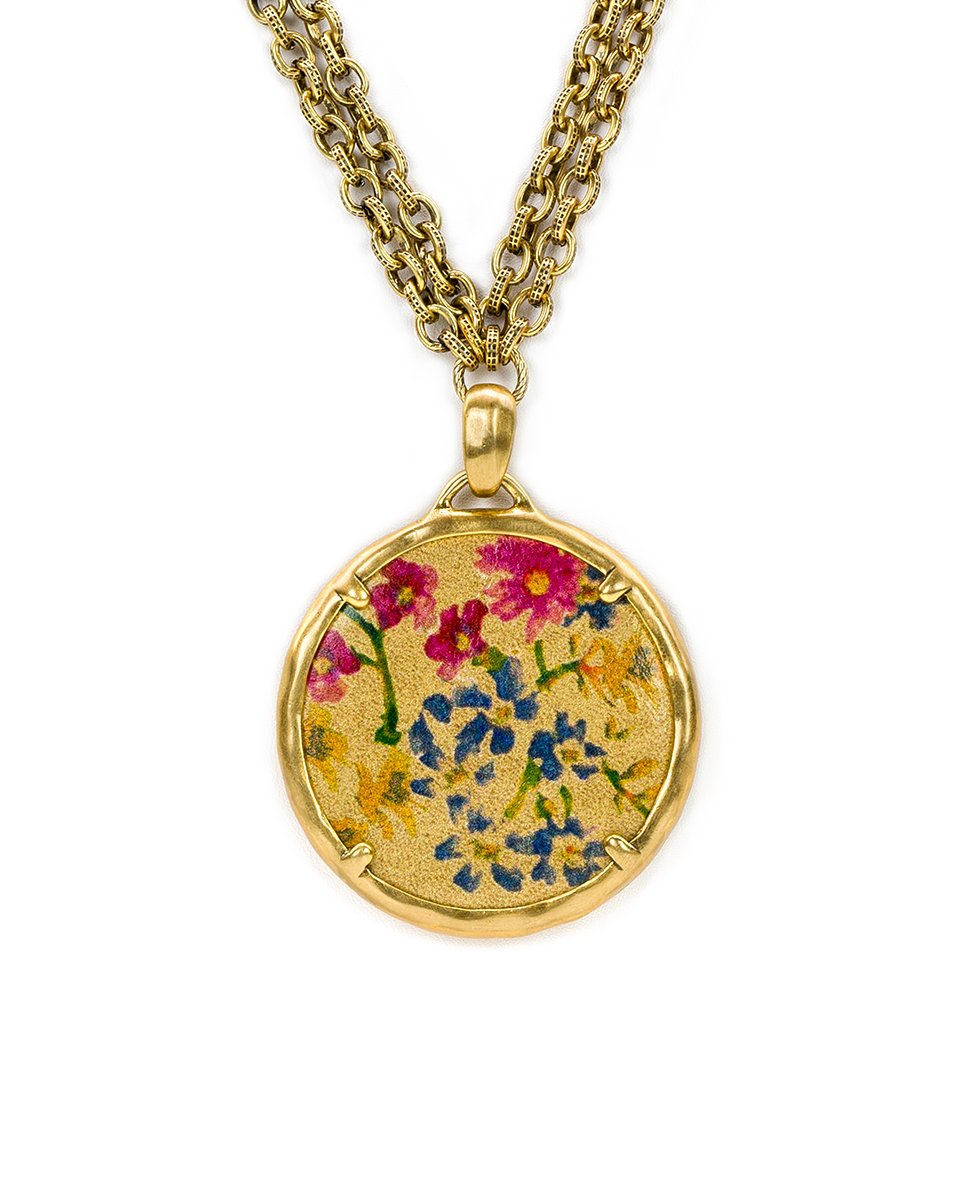 Nicolina Necklace - Prairie Rose 2