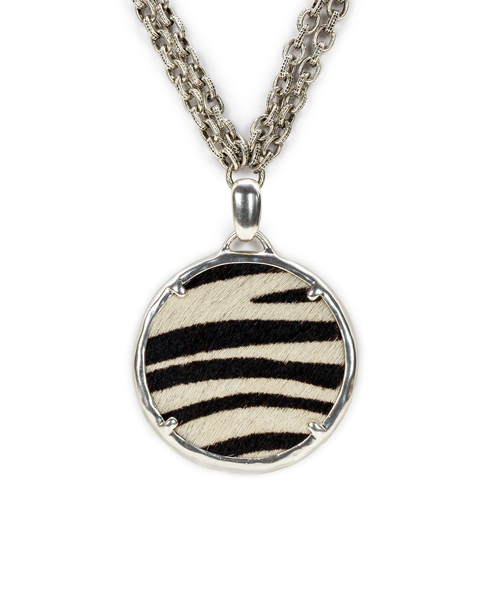 Nicolina Necklace - Zebra 2